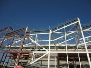 Protección estructura metálica con pintura intumescente